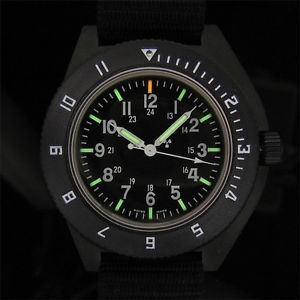 black running watch